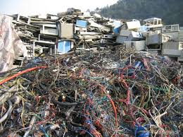 This is an image of tech junk from Greenpeace.org, and has very little to do with my blog post. Dispose of your tech waste responsibly!